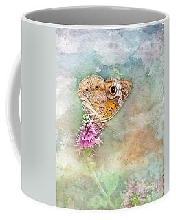 Coffee Mug featuring the photograph Common Buckeye by Betty LaRue