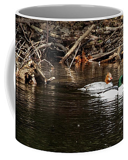 Common Mergansers Coffee Mug