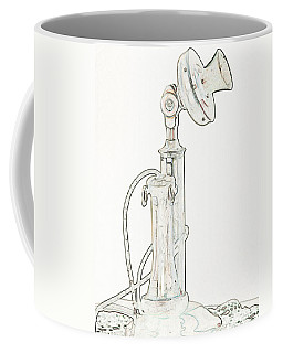 Communication Coffee Mug by Rhonda McDougall