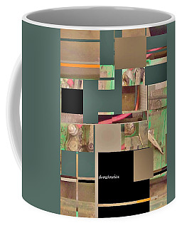 Coffee Mug featuring the mixed media Community by Andrew Drozdowicz