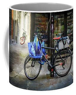 Commuter Shopping Bicycle Coffee Mug