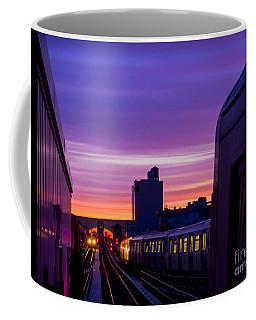 Commuter Sunrise Coffee Mug