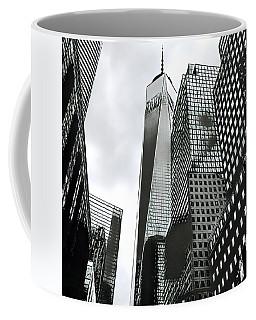 Commuters' View Of 1 World Trade Center Coffee Mug