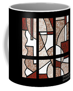 Compartments Six Panels Coffee Mug