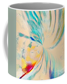 Coffee Mug featuring the mixed media Compassion by Jessica Eli
