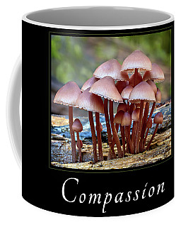Coffee Mug featuring the photograph Compassion by Mary Jo Allen