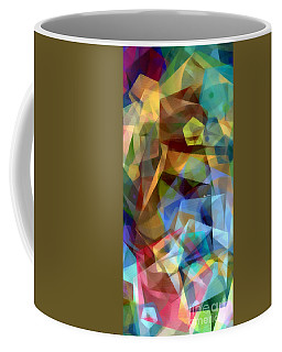 Coffee Mug featuring the digital art Complicated Sunset by Rafael Salazar