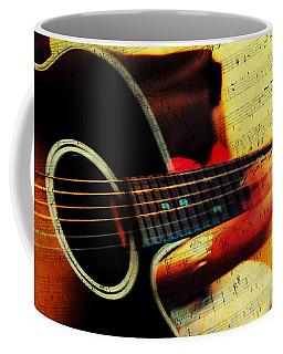 Composing Hallelujah. Music From The Heart  Coffee Mug