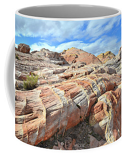 Concentric Color In Valley Of Fire Coffee Mug