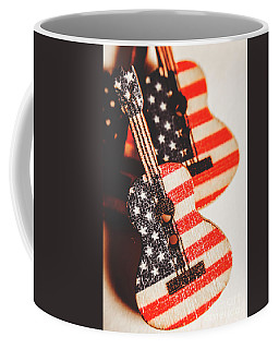 Concert Of Stars And Stripes Coffee Mug