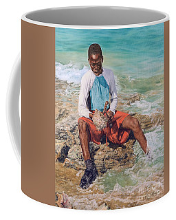 Conch Boy II Coffee Mug