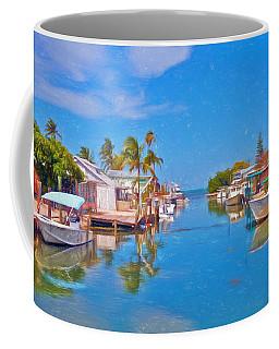 Conch Key Waterfront Living 3 Coffee Mug