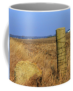 Concrete Post 2 Of 5 Coffee Mug by Tina M Wenger