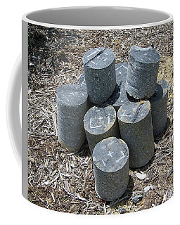Concrete Rolls Coffee Mug by Suhas Tavkar