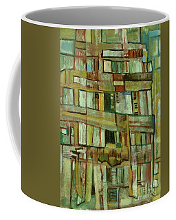 Coffee Mug featuring the painting Condo by Paul McKey