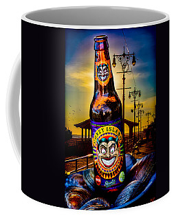 Coffee Mug featuring the photograph Coney Island Beer by Chris Lord