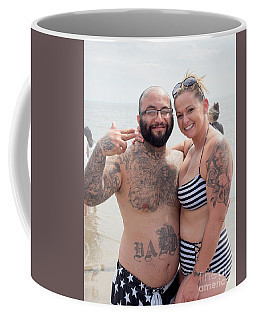 Coney Island Couple, New York  #234970 Coffee Mug