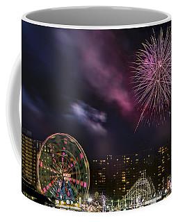 Coney Island Fireworks Coffee Mug