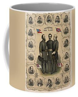 Confederate Generals Of The Civil War Coffee Mug