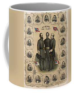 Confederate Generals Of The Civil War Coffee Mug