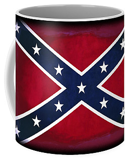 Confederate Rebel Battle Flag Coffee Mug