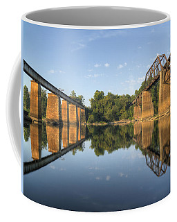 Congaree River Rr Trestles - 1 Coffee Mug