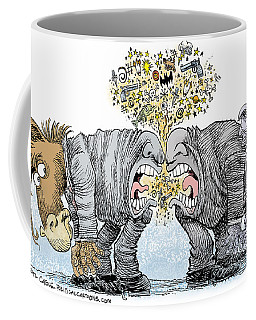 Congress Talking Out Of Their Butts Coffee Mug