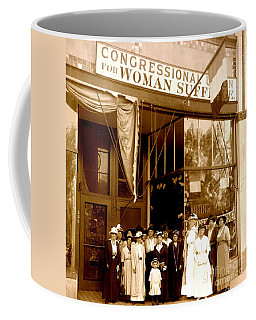 Congressional Union For Woman Suffrage Colorado Headquarters 1914 Coffee Mug
