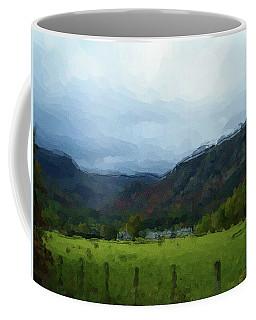Coniston Watercolour Sketch Coffee Mug