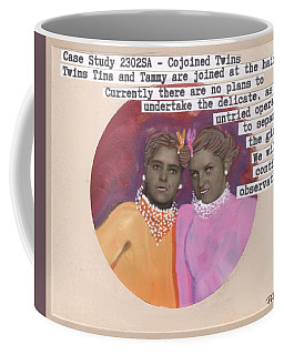 Conjoined Hair Twins Medical Experiment  Coffee Mug