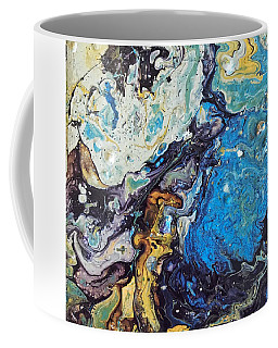 Coffee Mug featuring the painting Conjuring by Robbie Masso