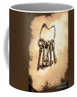 Connected Keys Coffee Mug