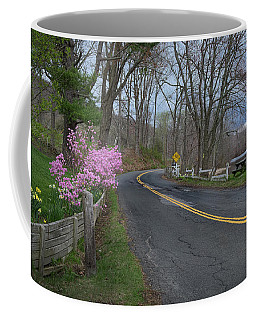 Coffee Mug featuring the photograph Connecticut Country Road by Bill Wakeley