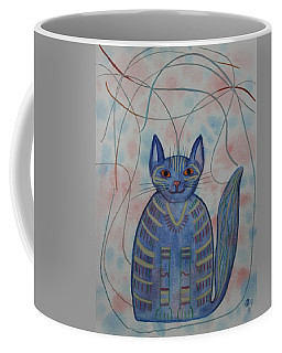 Connection Cat  Coffee Mug