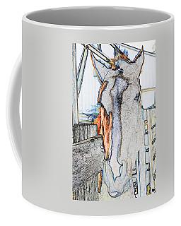 Connections To Childhood Coffee Mug by Rhonda McDougall