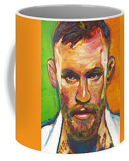 Coffee Mug featuring the painting Conor Mcgregor by Robert Phelps