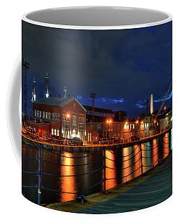Coffee Mug featuring the photograph Constitution Marina - Boston Navy Yard by Joann Vitali