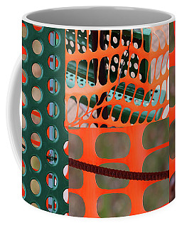 Construction Zone Abstract Coffee Mug