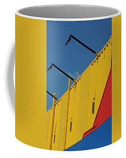 Contained Abstract Coffee Mug