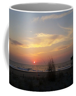 Contemplating Sunrise Coffee Mug
