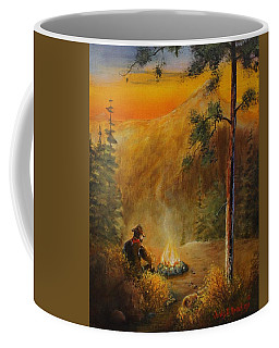 Contemplating The Journey Coffee Mug