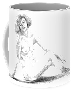 Contemplation Coffee Mug by Edgar Torres