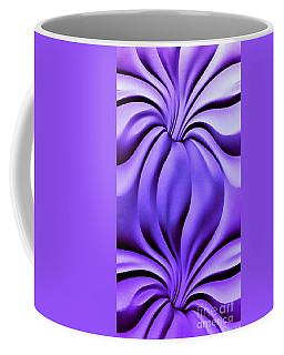 Contemplation In Purple Coffee Mug