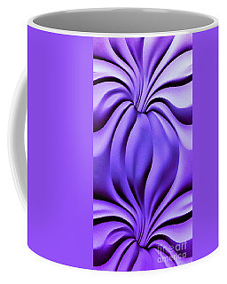 Contemplation In Purple Coffee Mug