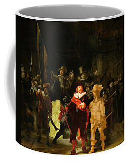 Contemporary 1 Rembrandt Coffee Mug by David Bridburg