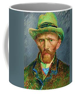 Contemporary 2 Van Gogh Coffee Mug by David Bridburg