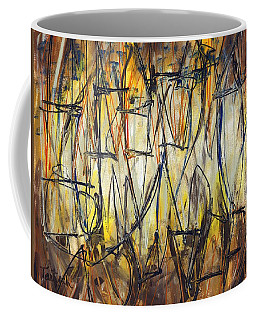 Contemporary Art Three Coffee Mug