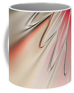 Coffee Mug featuring the digital art Contemporary Flower by Bonnie Bruno