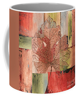 Contemporary Grape Leaf Coffee Mug