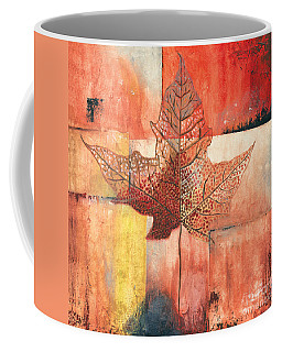 Contemporary Leaf 2 Coffee Mug